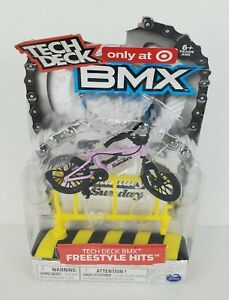 Tech Deck BMX Target Exclusive Freestyle Hits Sunday With Obstacle Bike Rack New