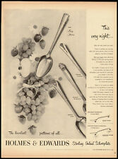 Holmes & Edwards Sterling Inlaid Silverplate Vintage Ad McCall's 1951 (101611)