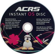 ADVANCED COMPUTER REPAIR INSTANT OPERATING SYSTEM BOOT DISC [DISC 3 OF ACRS KIT]
