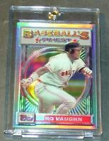 1993 93 MO VAUGHN TOPPS FINEST REFRACTOR #165 RED SOX SHARP