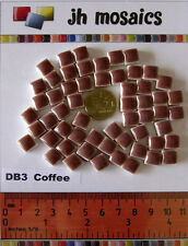 100pcs - 110grams Micro Ceramic Mosaic Tiles Coffee DB3