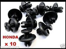 HONDA Civic Accord Inner Wheel Fender Push Type Replacement Plastic Clips T20