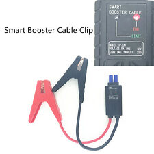 Car Battery Alligator Clip Jump Starter Lead Cable Booster Cable LED Indicator