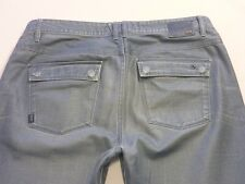 087 MENS EX-COND JAG LOW RISE SLIM NIBBUS GREY WASH JEANS 36 REG $120 RRP.