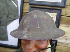 WWI US Doughboy Painted Helmet