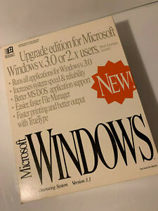 """MICROSOFT WINDOWS V3.1 MANUAL 3.5"""" DISKETTES COLLECTIBLE 050-031-620 LAST ONE"""