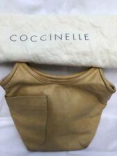 COCCINELLE Damen Leder Handtasche Braun, Tasche Bag Sac, Henkeltasche, Purse