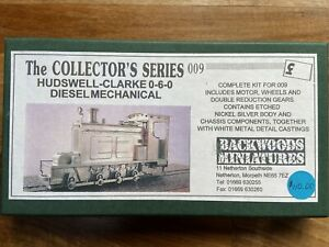 Backwoods Miniatures Hudswell-Clarke 0-6-0 Diesel Mechanical 009 Kit