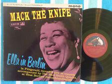 ELLA FITZGERALD Mack The Knife: In Berlin LP His Master's Voice 1960 Mono UK