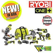 Ryobi P1896 ONE Plus 18-Volt Lithium-Ion Cordless Combo Kit (12-Tool) NIB