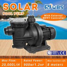 Solar Pool Pump DC Swimming Off Grid System 900W 72V 18000 L/H + MPPT Controller