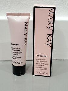 Rare NEW Mary Kay TimeWise Beige 4 Matte-Wear Liquid Foundation 1 Fl oz