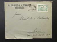 Germany 1922 Magdeburg Cover w/ Light Creasing & Sm Bottom Tears - Z6857
