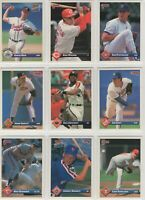 1993 Donruss Baseball Team Sets **Pick Your Team**