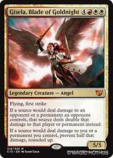 GISELA, BLADE OF GOLDNIGHT Commander 2015 MTG Gold Creature — Angel Mythic Rare