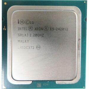 Intel Xeon E5-2420V2 @ 2.20GHz SR1AJ 6 Core Socket 1356 Processing Unit