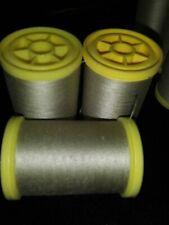 Coats LOT OF 3 SPOOLS 100% Cotton General Purpose Thread 225 Yards 30wt CAMEL