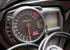 Suzuki GSX-R Carbon-Look Speedo Cover Decal / Pad 2005-10 GSXR L0 K9 K8 K7 K6 K5