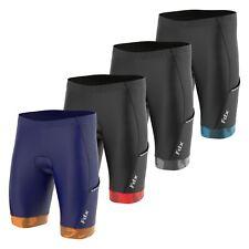 FDX Cycling Shorts with Pockets 3D Anti-Bac Padding All Day Men MTB Bike Shorts