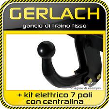 Fiat Stilo 3/5 porte 2001-2007 gancio traino fisso + kit elettrico 7 poli