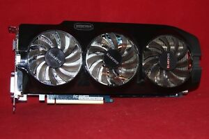 PCI-Express Graphics Card Gigabyte GeForce GTX 670 Windforce 2GB (GV-N670OC-2GD)