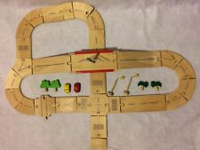 Plan Toys Plan City Series Wooden Roadway and Bridge. Good Condition
