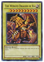 YUGIOH • Drago Alato di Ra Divinità Egizie The Winged Dragon LC01-EN003 ULTRA NM