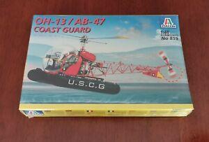 1:48 OH-13 / AB-47Coast Guard ITALERI 859 Kit 1999 modellismo statico