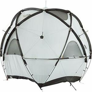 THE NORTH FACE NV21800 Geodome 4 Tent with Footprint Saffron Yellow New