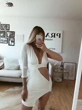 Vestido sexy con Cutout verano primavera fiesta cóctel Weiss s 36 blogueros insta