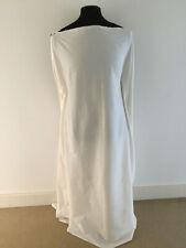 Ecru Woven Stretch Cotton/Lycra Poplin Dressmaking Fabric---1.4/2.8 metres