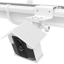 1pc White Outdoor Gutter Fixed Holder Bracket + Case for Blink XT Camera TH1335