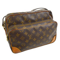LOUIS VUITTON NILE CROSS BODY SHOULDER BAG PURSE MONOGRAM M45244 N00995 30698