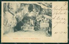 Palermo Città Grotta Santa Rosalia cartolina XB3007
