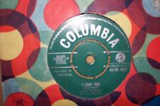 CLIFF RICHARD,  I LOVE YOU,  COLUMBIA RECORDS 1960  EX