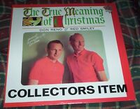Don Reno Red Smiley Christmas Vinyl LP True Meaning of Christmas Sealed Reissue