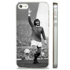 George Best Manchester United FC CLEAR PHONE CASE COVER fits iPHONE 5 6 7 8 X