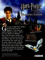 The World of Harry Potter in 3-D Trading Card Dealer Sell Sheet Sale Ad 2007