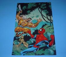 MARVEL HEROES & VILLAINS SPIDERMAN VS KRAVEN POSTER PIN UP