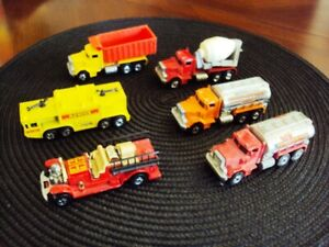 Lot of 6 Vintage Hot Wheels BW Workhorse Vehicles, loose 1970s