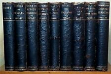 Essays of Thomas H. Huxley, 9 volume set, D. Appleton and Company 1899