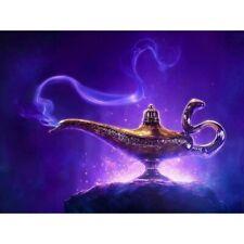 Round 5D DIY Diamond Painting Art Craft Aladdin Stitch Kits Decor Gifts