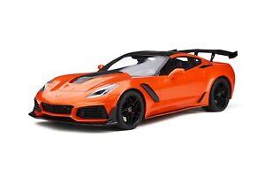 1/12 GT Spirit Chevrolet Corvette C7 ZR1 Coupe from 2018 Sebring Orange  GT246