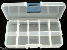 5 Sortierbox 10 Fächer mit Deckel Perlen Aufbewarung Box Organizer für Perle