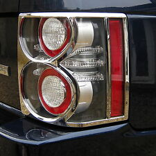 Chrome rear light lamp covers trims for Range Rover L322 Vogue 2010 accessories