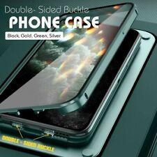 Горячий двухсторонний пряжка чехол для iPhone | 360 магнитная адсорбция металлический корпус