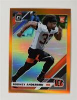 2019 Donruss Optic Rookie Orange #134 Rodney Anderson /199 - Cincinnati Bengals