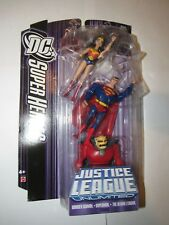 "DC Justice League Unlimited 4"" figure 3 pack Wonder Woman Superman Demon Etrigan"