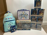 Funko Disneyland 65th Anniversary LOT! Includes Backpack, Lunchbox, Mini Figures