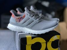 69f55548e1e Mi Adidas Ultra Boost Multicolor Rainbow PK NYC Size 9 New Grey Gray Custom  LOOK